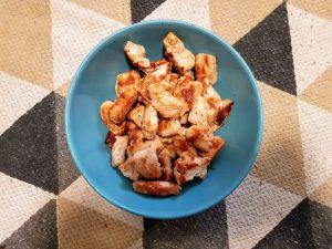 kurczak przed dodaniem do sosu