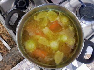 wywar na zupę krem z dyni