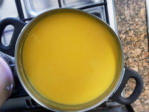 zmiksowana zupa krem z dyni