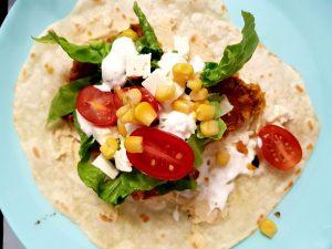 tortilla ze składnikami