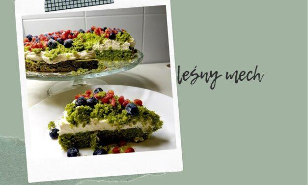 Leśny mech z mascarpone – przepis na zielone ciasto ze szpinakiem