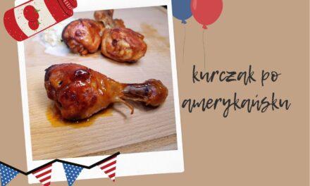 Kurczak po amerykańsku w sosie keczupowym