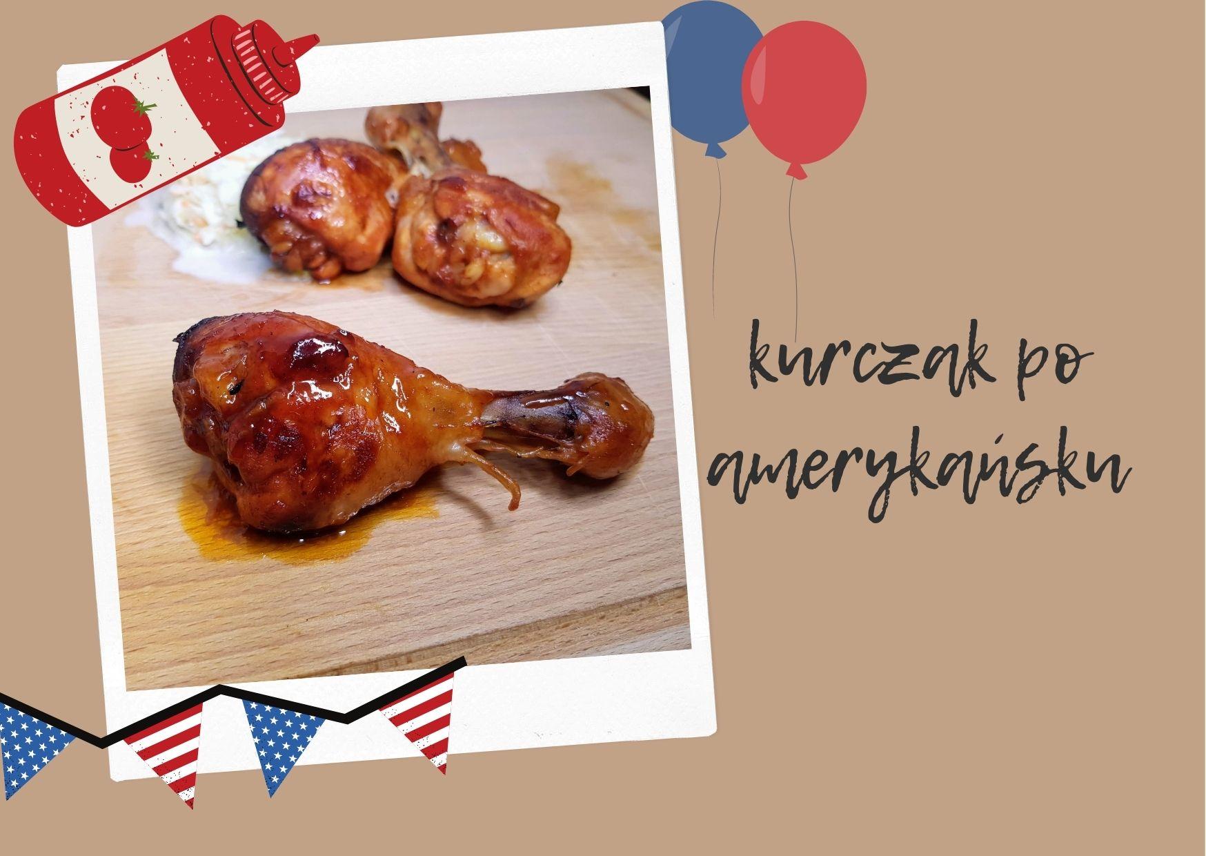 kurczak po amerykańsku